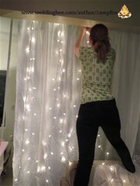 how to make a wedding backdrop with lights backdrop wedding ideas pinterest hochzeit