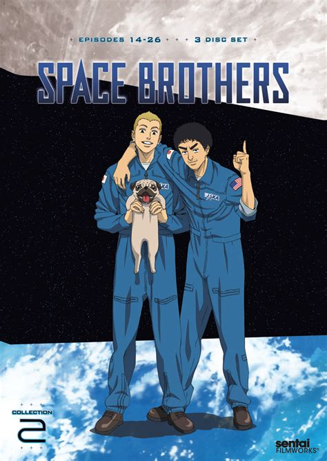 space brothers space brothers collection 2 dvd