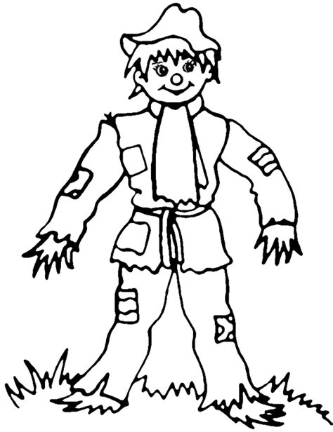 printable coloring pages scarecrow scarecrow coloring pages coloring pages to print