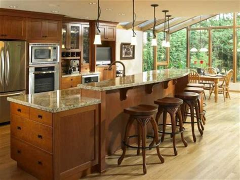 Kitchen Island Bar Designs Kitchen Islands With Room To Spare