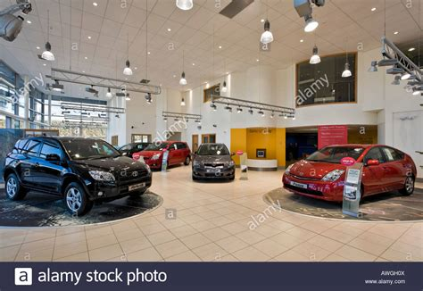 Toyota Car Showroom Interior Stock Photo Royalty Free