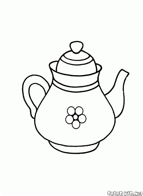teapot coloring page coloring page teapot