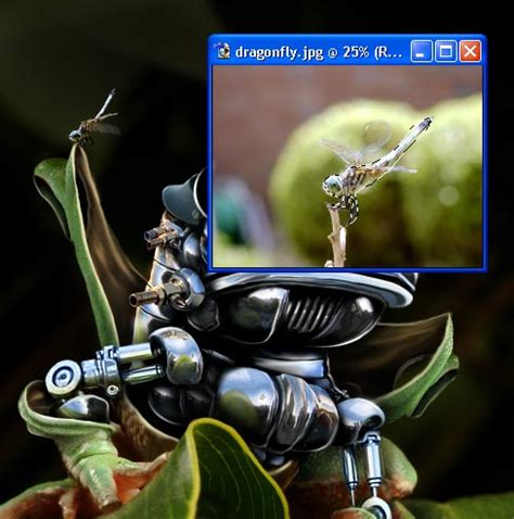 tutorial photoshop robot create a robotic frog photoshop tutorial