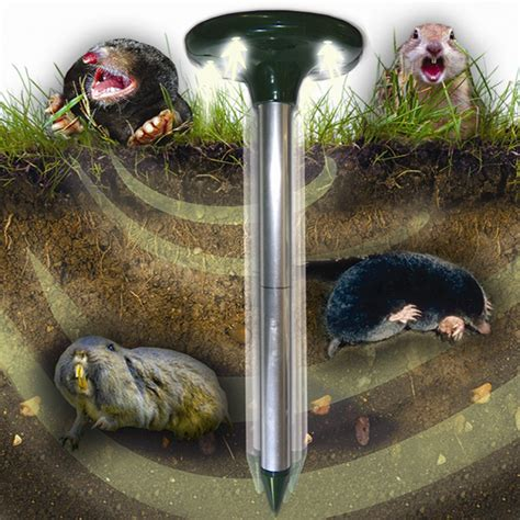 transonic mole ultrasonic mole repeller bird