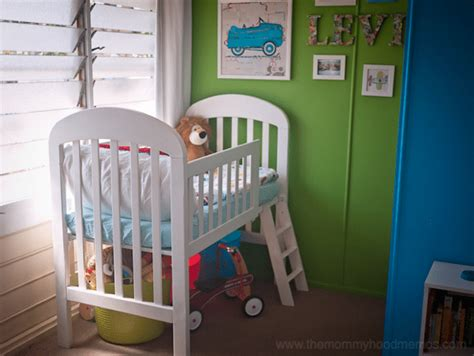 crib into toddler bed transform your old crib into a loft toddler bed simple budget diy