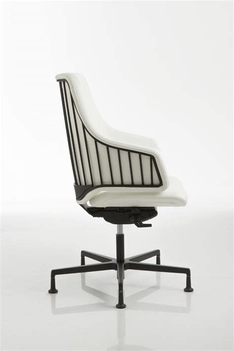 piedini per sedie sedia per ufficio con base in alluminio su piedini idfdesign