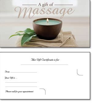 chiropractic gift certificate template gift certificates for therapy gift ftempo