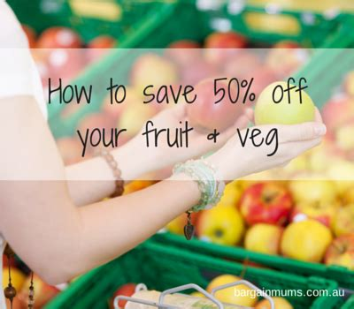 Save 50 At Pawniquely Yours by How To Save 50 Your Fruit Veg Bargain Mums