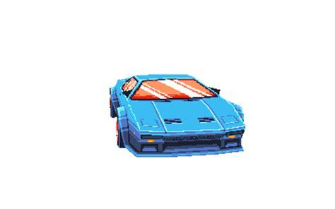 pixel car transparent pixels