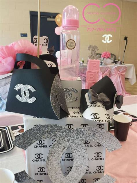 Chanel Decorations by Best 25 Chanel Baby Shower Ideas On Chanel