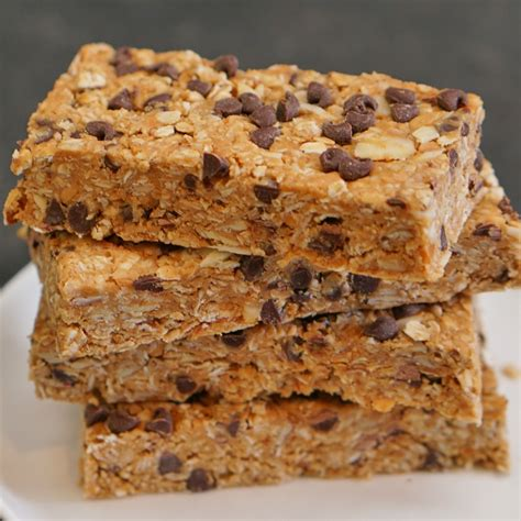top 10 granola bars no bake chewy granola bars recipe