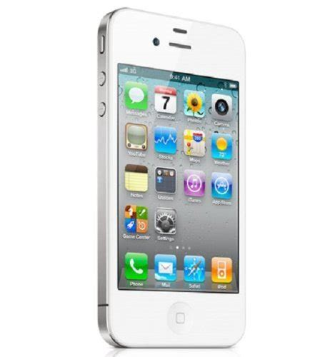 apple iphone  gb white factory unlocked  rs
