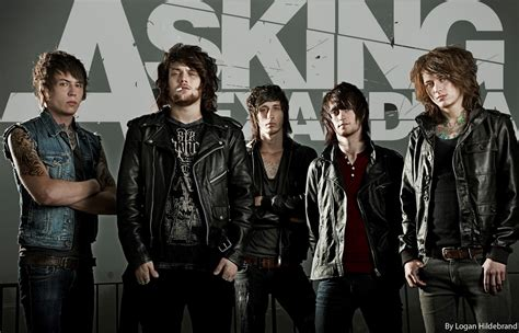 Asking Alexandria Rock Band asking alexandria band killinquinn
