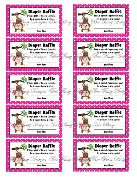 free printable diaper raffle tickets girl diaper raffle tickets free printable search results