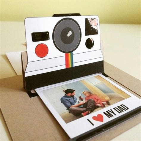Polaroid Pop Up Card Template by 353 Best Crafts Paper Canvas Images On