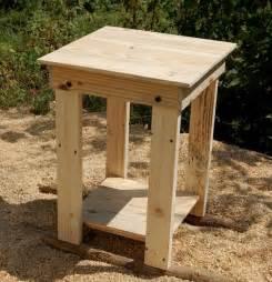 Pallet Nightstands Diy Pallet Side Tables Nightstands End Tables Pallet