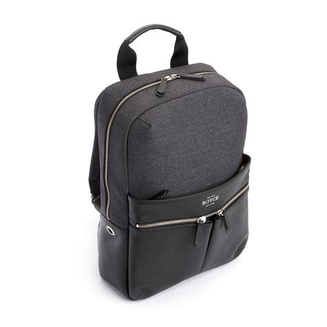 Built Ny Electric Charger Bag by Leather Backpack Charging Bank Royce Leather Touch