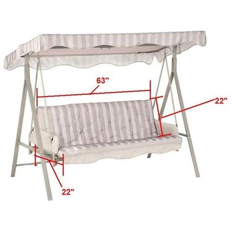 Home Patio Swing Replacement Cushion by Patio Swing Cushions Replacement Newsonair Org
