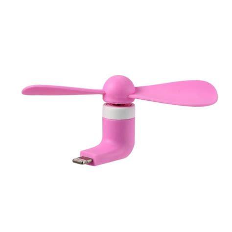 Remax Mini Portable Usb Fan Lightning Port 8 Pin For Iphone 56 Blue remax refon mini fan f10 for iphone 5 6 7 pink