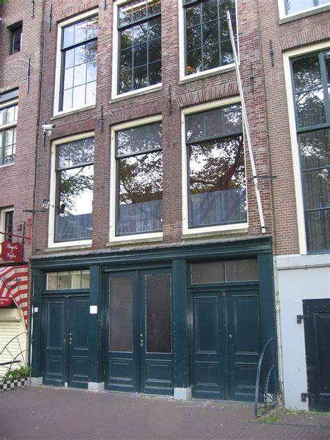 frank home anne frank house museum in amsterdam thousand wonders