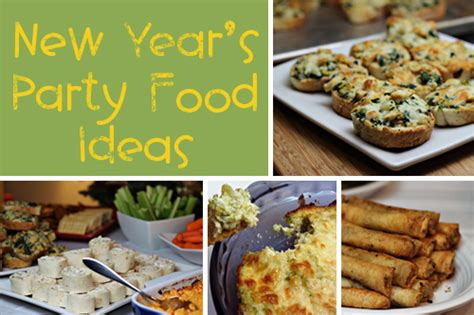 new year food decorations how to plan a new year venuelook