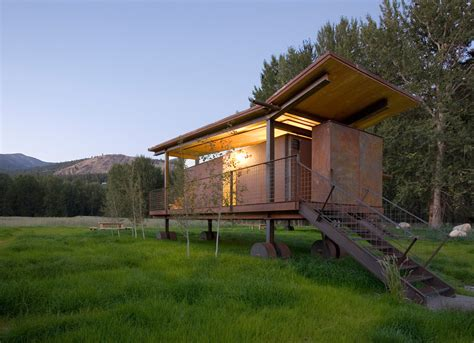 Rolling Cabins by Gallery Of Rolling Huts Kundig 7