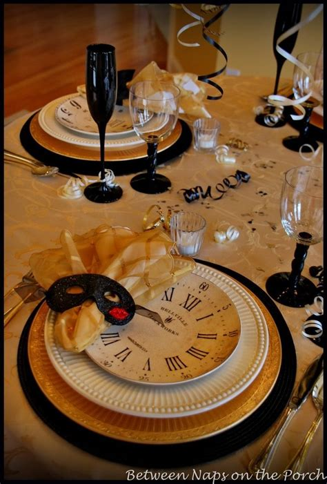 new year dinner decorations new year s table setting mystery dinner