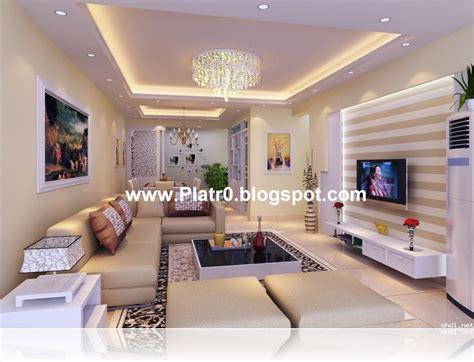 Plafond En Platre Chambre A Coucher by D 233 Coration Platre Salon 2017