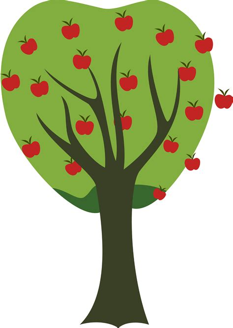 fruit tree clipart apple fruit tree clipart cliparts and others inspiration