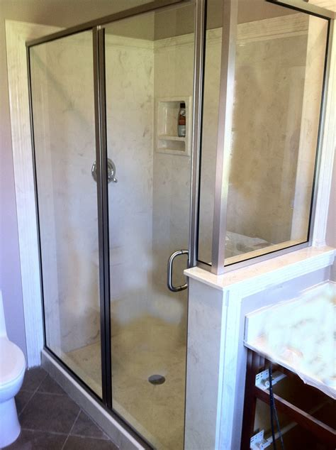 Solid Glass Shower Doors Solid Glass Shower Doors Custom Shower Doors In Spa With Hardware And Satin Etch Glass Solid