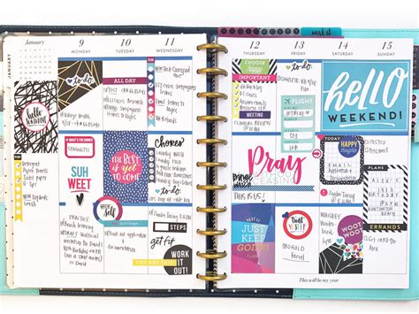 planner com using the big make things happen happy planner 174 for 2017