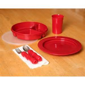 Red tableware red dinnerware set red dinnerware daily living