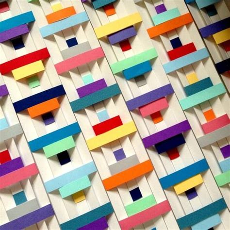 Paper Weaving Crafts - the 25 best ideas about paper weaving on