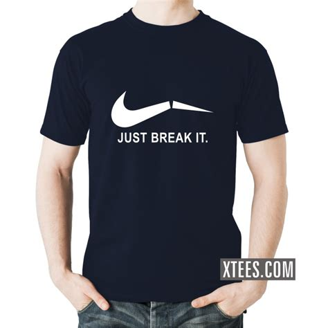T Shirt Berak Nike buy just it nike logo slogan t shirts