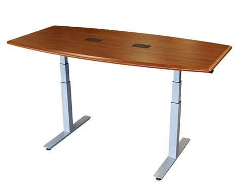 Height Adjustable Meeting Table Adjustable Height Meeting Tables