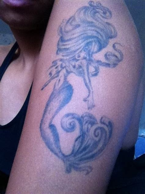 mermaid tattoo ideas for men and women 24