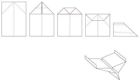 How To Make A Paper Airplane Glider - alasku design 08 20 15