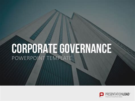 ppt templates for corporate governance corporate governance ppt slide template