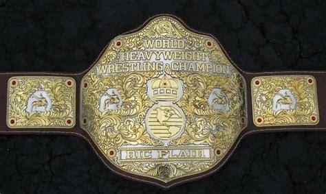 wwe belts real gold  history   championship belts