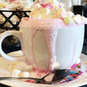 hot chocolate gif tumblr