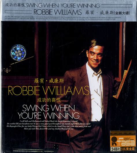 swing when you are winning robbie williams swing when you re winning sealed chinese