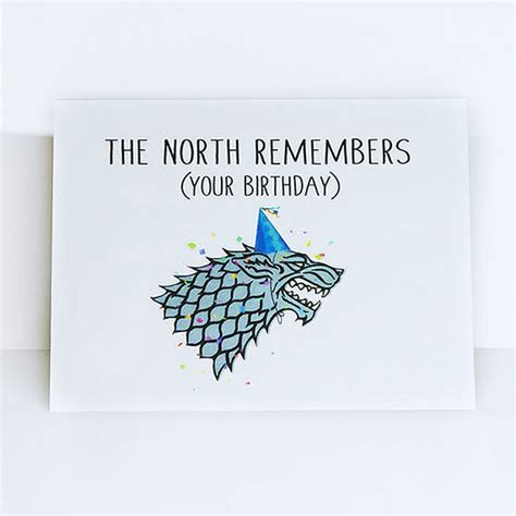 Of Thrones Board Card Template by The Remembers Your Birthday Of Thrones The