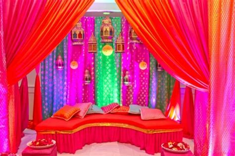 mehndi stage decoration all home ideas and decor home jago great for mehndi or sangeeta decor indian wedding