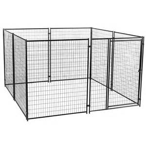 home depot kennel fencemaster cottageview 5 ft x 5 ft x 4 ft boxed kennel