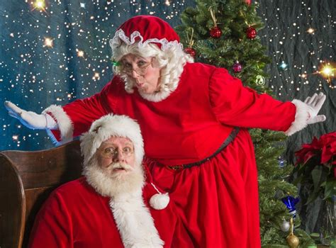 bellingham duo don santa and mrs claus costumes during