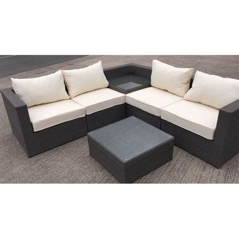 table with built in l sectional sofa with built in corner table