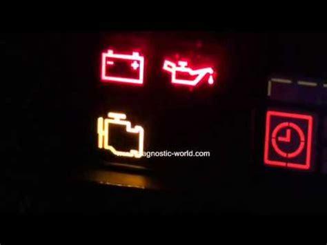 honda engine management warning light   diagnose