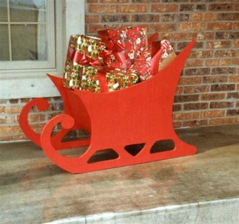 santa sleigh plans blueprints  diy
