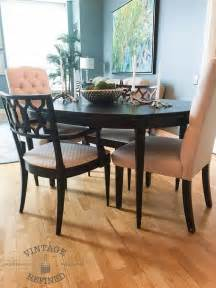 dining room update painting dining table amp chairs hometalk painting a duncan phyfe dining room table barnaclebutt