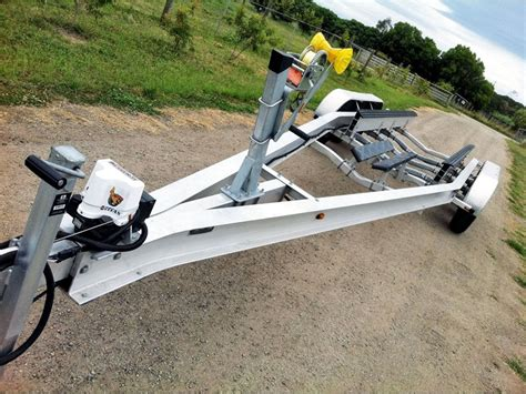 rc boat trailer for catamaran new aluminium 30ft boat trailer boat trail for sale